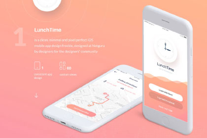 LunchTime Mobile App Design
