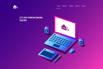 Portfolio Free Web Page Design