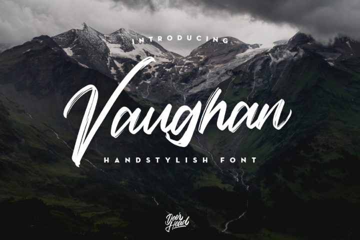 Vaughan Handstylish Font Demo