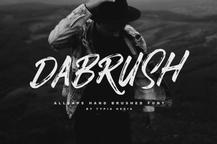 Dabrush Free Demo Typeface