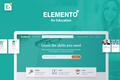 Elemento Multipurpose Template Demo
