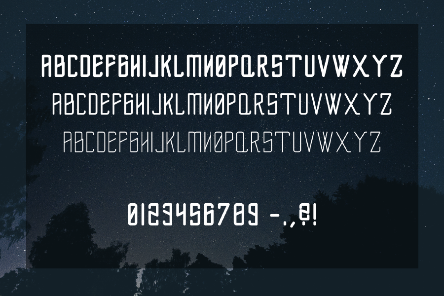 Flexus Free Display Typeface
