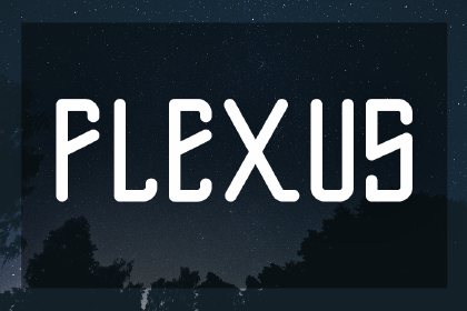 Flexus Free Display Typeface