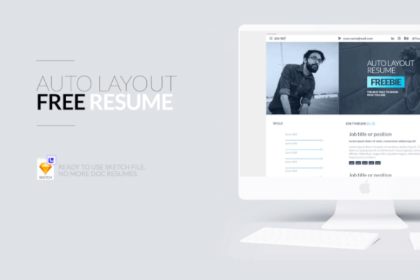 Free Auto Layout Resume