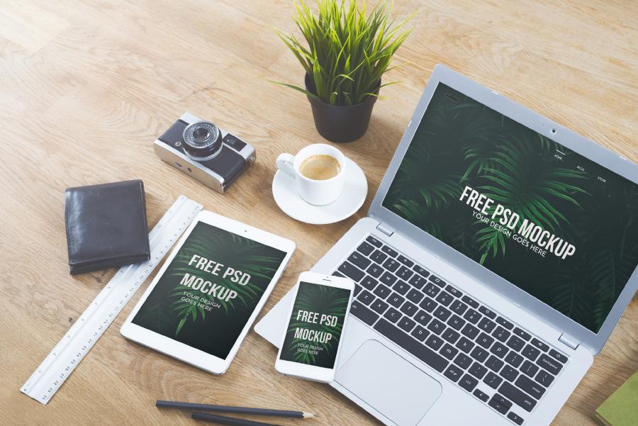 Free Macbook Pro Mockup PSD — Free Design Resources