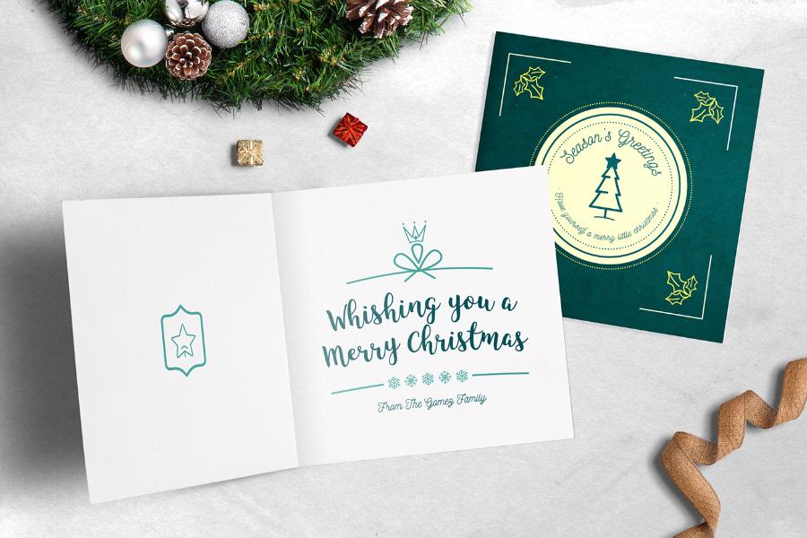 Ho Ho Ho! Greeting Card Templates
