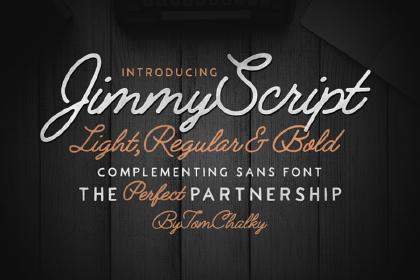 Jimmy Script Font Demo