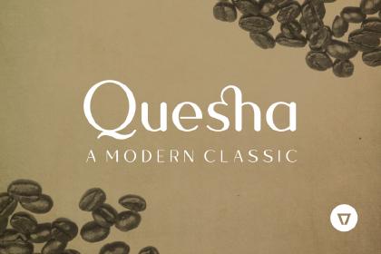 Quesha Modular Font Demo
