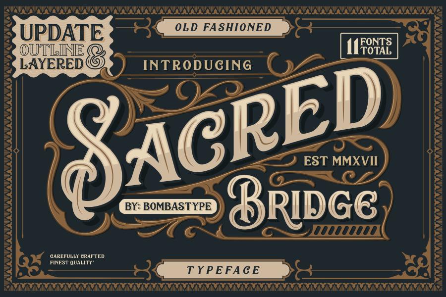Sacred Bridge Free Typeface