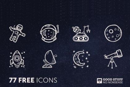Space Icon Illustration Pack