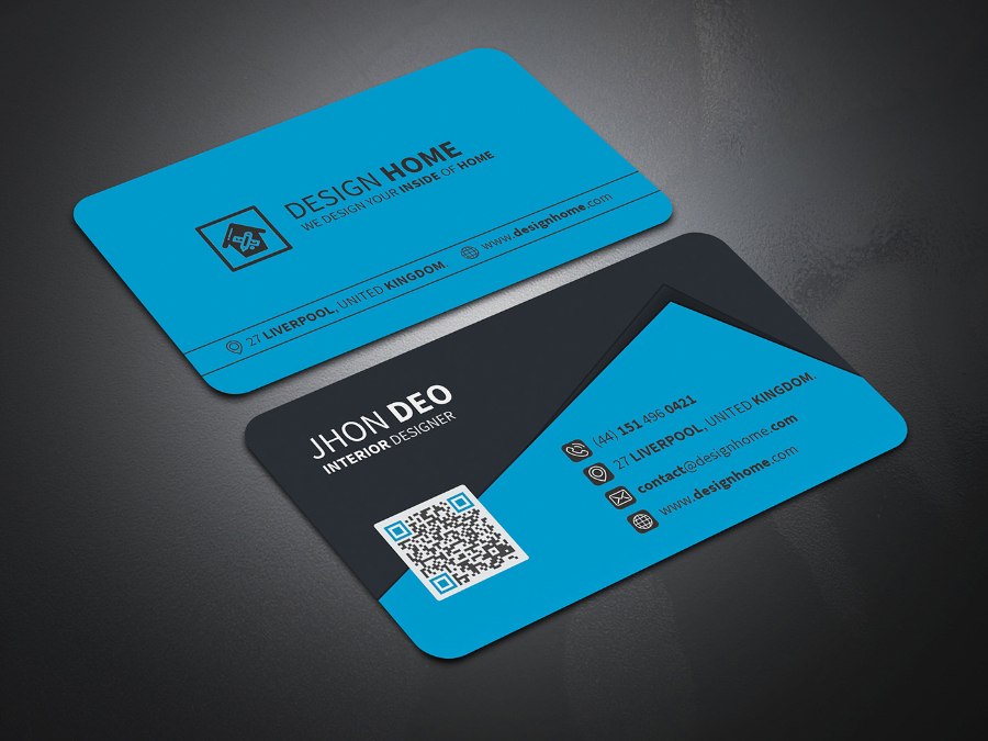 creative business card design free design resources