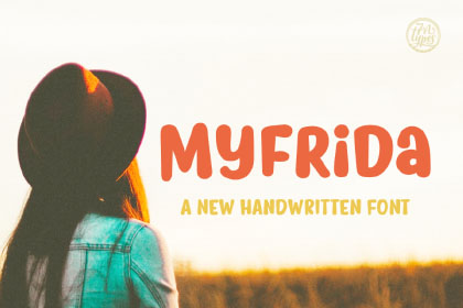 Myfrida Free Handwriting Font