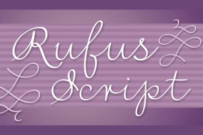 Rufus Script Free Typeface