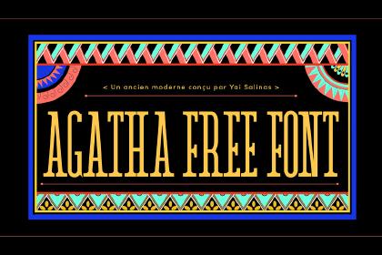 Agatha Classic Modern Font
