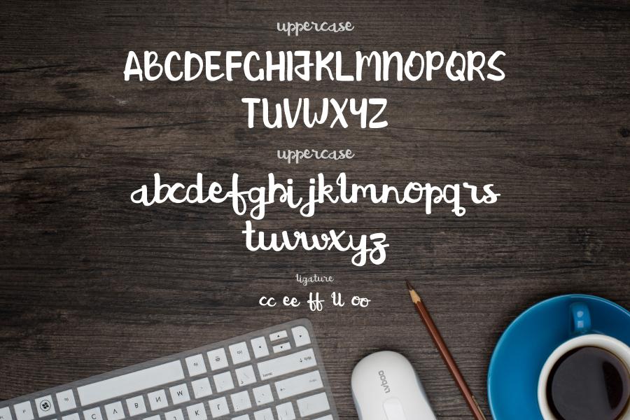 Brush Action Free Typeface