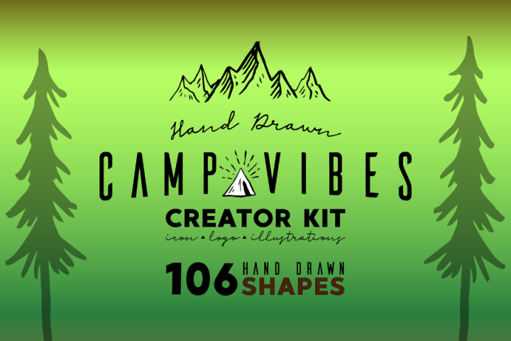 Camp Vibe Logo Creator Demo