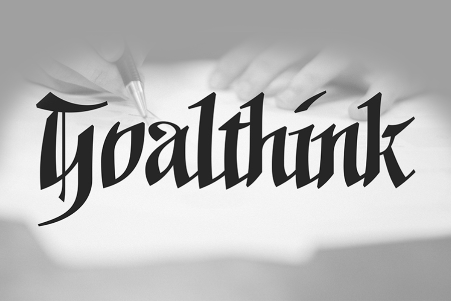 Goalthink Free Traditional Font