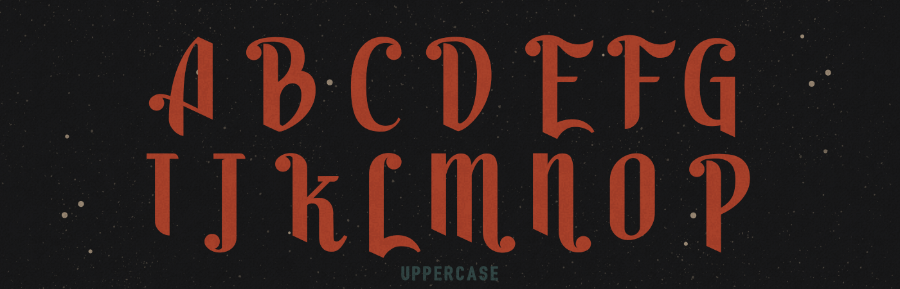 Harson Inter-Galactic Typeface Demo