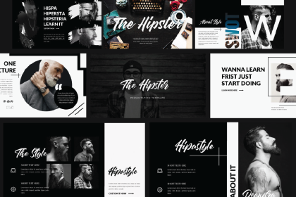 Hipster Presentation Template Demo