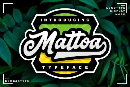 Mattoa Script Free Demo