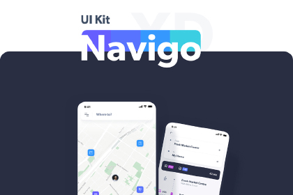 Navigo Transportation Free UI Kit