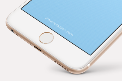 Free iPhone Perspective Mockup
