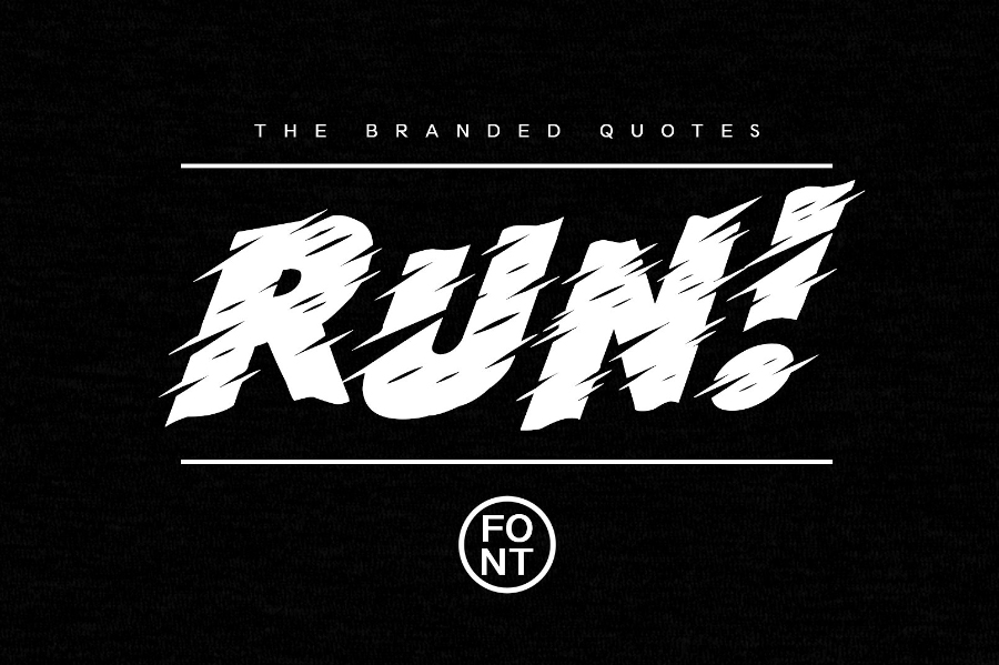 Run Typeface Free Demo