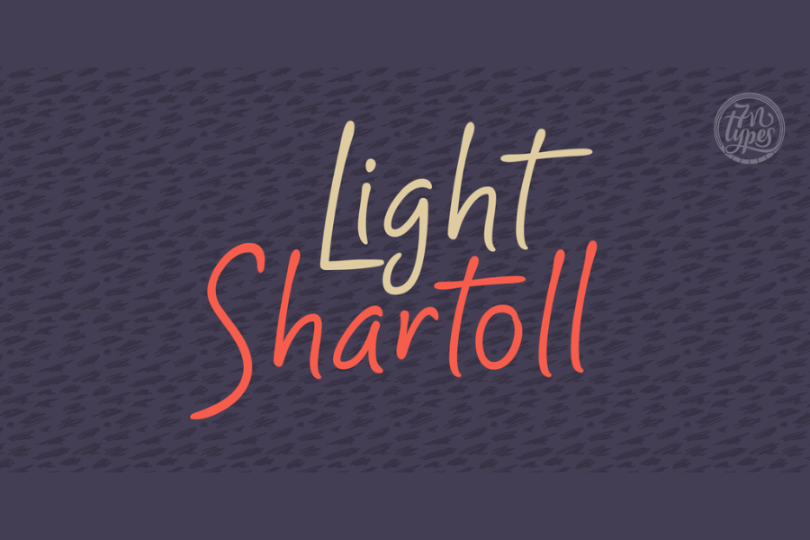 Shartoll Light Free Typeface