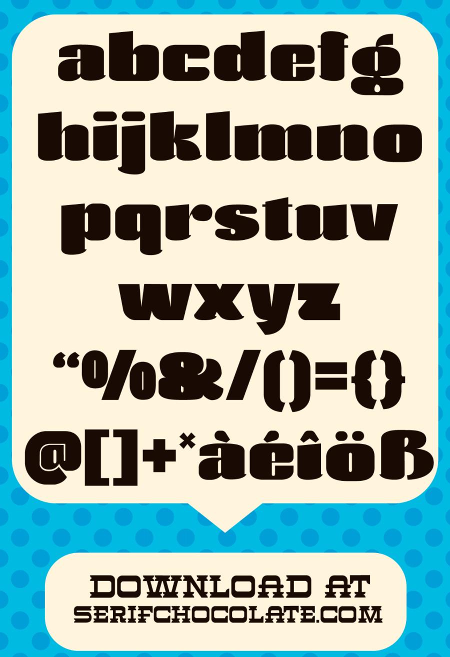 Agustina Heavy Free Font