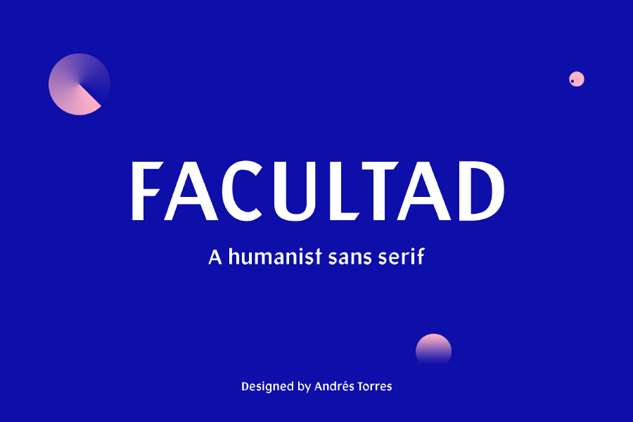 Facultad Free Display Sans