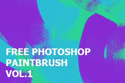 Free Photoshop Paintbrush Pack