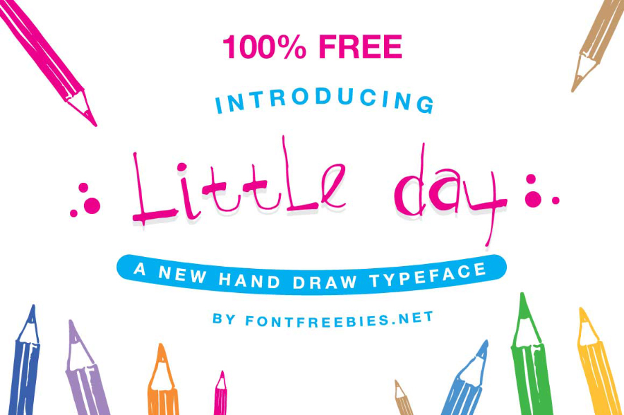 Little Day Free Handwriting Font