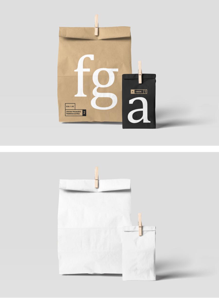 Free Paperbag PSD Mockup