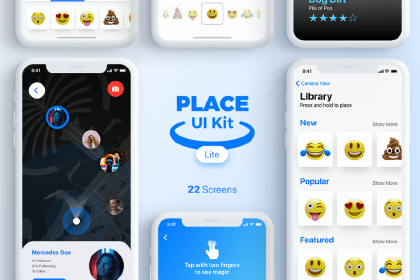 Place UI Kit Design Lite Version