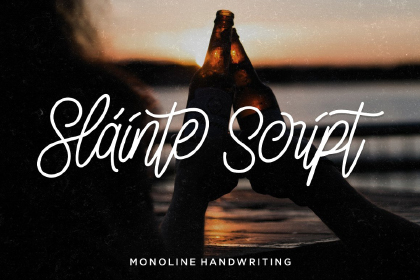 Slainte Script Free Demo Font