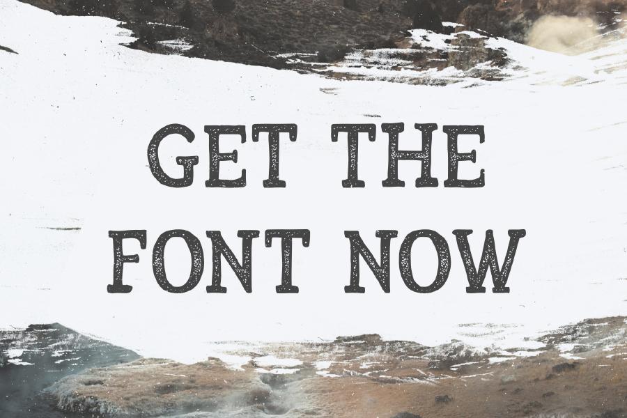 Arber Display Free Vintage Font
