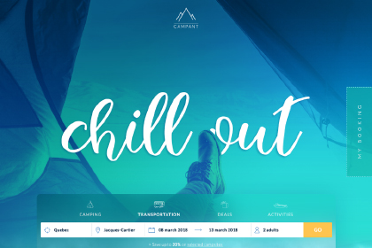 Campant Free Travel Template