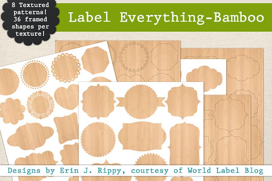 Free Label Everything Frame