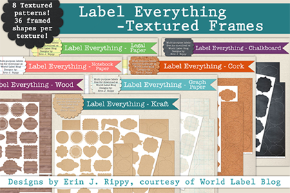 Free Label Everything Frame