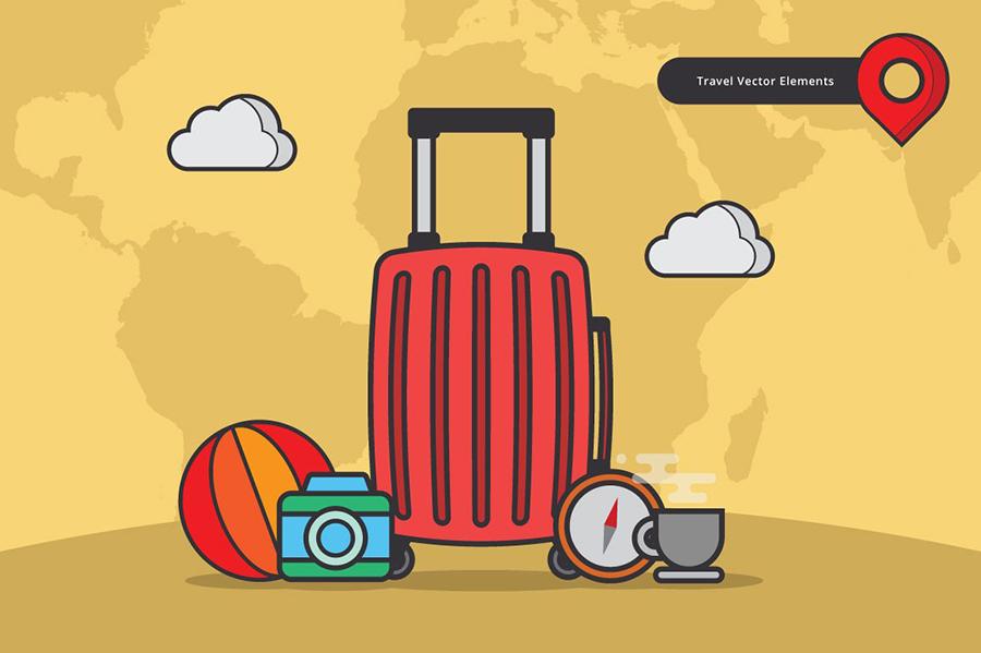 Free Travel Vector Elements