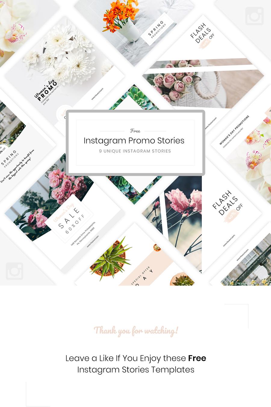Free Instagram Promo Template