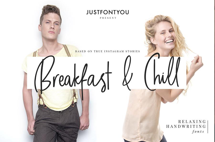 Breakfast & Chill Font Demo