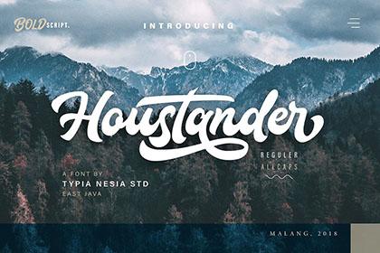 Houstander Font Free Demo