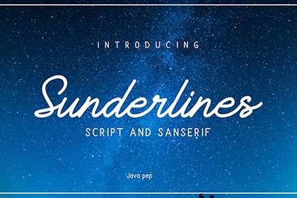 Sunderline Script Free Demo