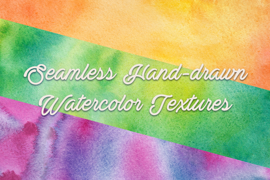 3 Seamless Watercolor Textures