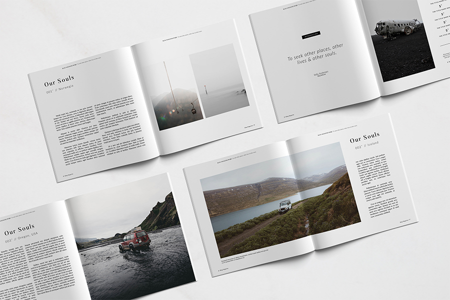 Free Blog Magazine Template - Free Design Resources