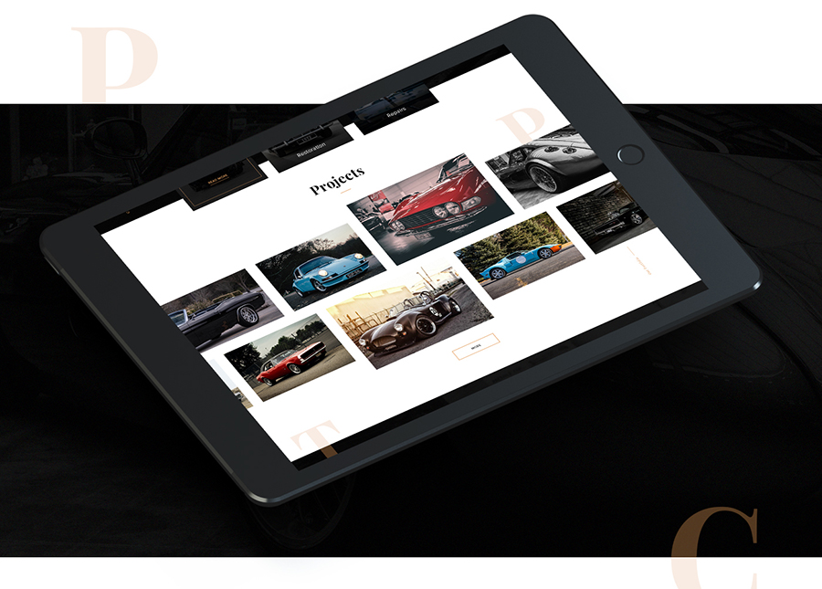 Charger Free PSD Template