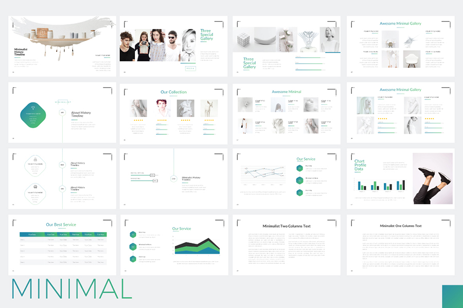 Minimal minimalist template demo free design resources for Minimalist powerpoint template free