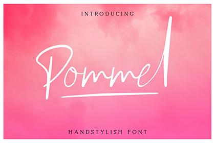 Pommel Script Free Demo