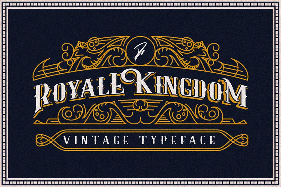 Royale Kingdom Font Demo